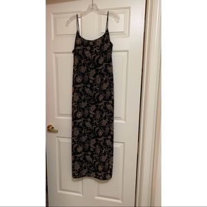 Old Navy Dress Black and Brown